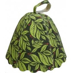 Купить Шапка для бани и сауны Банные штучки «Листья» 41139