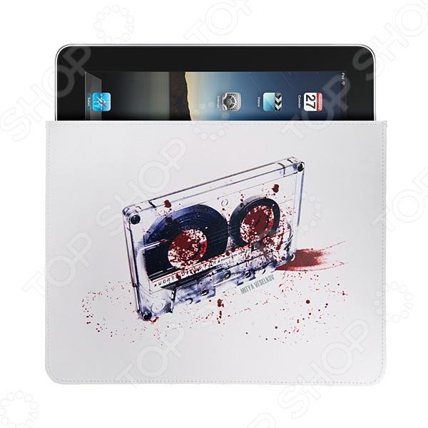 Чехол для iPad Mitya Veselkov «Кассета» чехлол для ipad iphone mitya veselkov чехол для ipad райский сад ip 08