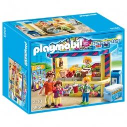 фото Конструктор игровой Playmobil «Парк Развлечений: Киоск со сладостями»