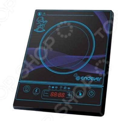 Плита настольная индукционная Endever IP-26 электрическая плита endever ip 28 закаленное стекло индукционная черный [80033]