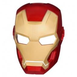 фото Маска супергероя светящаяся Hasbro Железный человек. В ассортименте