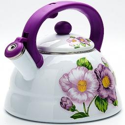Купить Чайник со свистком Mayer&Boch «Лилии»