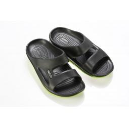 Купить Сланцы летние Walkmaxx. Цвет: черный, зеленый