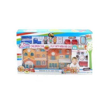 Купить Кукольный дом с аксессуарами Shantou Gepai 629177