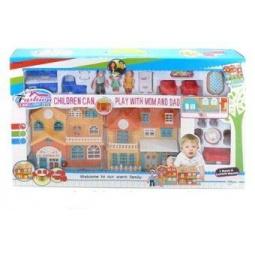 фото Кукольный дом с аксессуарами Shantou Gepai 629177