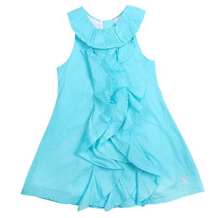 Купить Детское платье WWW Sunny days. Цвет: бирюзовый