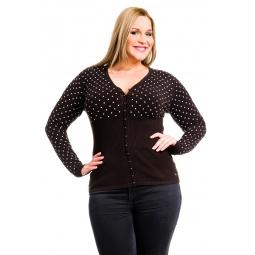 фото Жакет Mondigo XL 9410. Цвет: коричневый. Размер одежды: 52