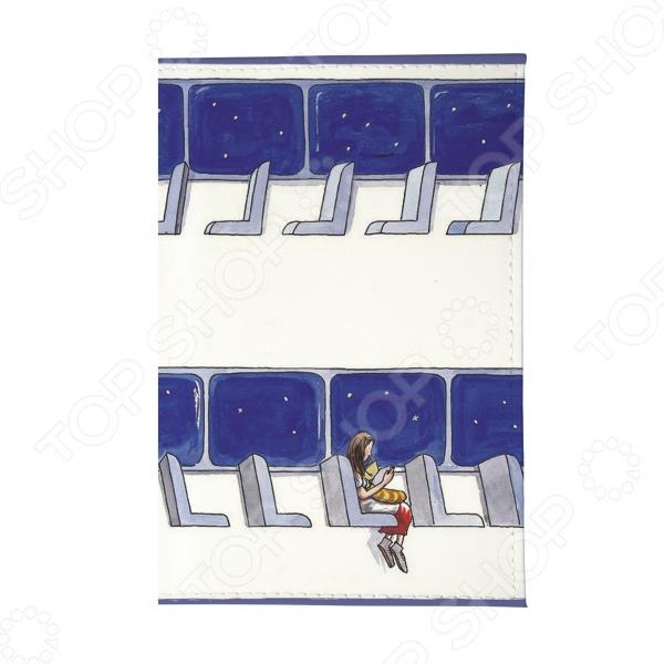 Обложка для паспорта Mitya Veselkov «В пустом вагоне» mitya veselkov будка в лондоне