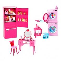 фото Набор аксессуаров для игрушек Mattel Компактная комната. В ассортименте