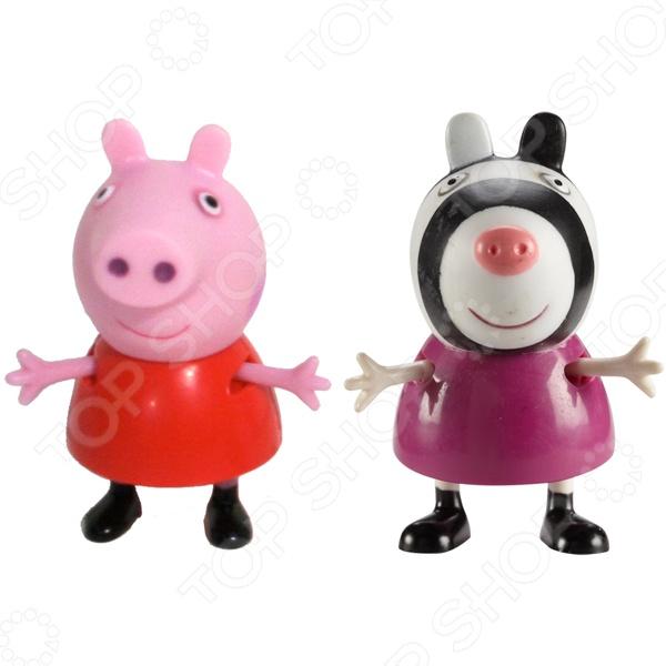 купить Набор из двух мини-фигурок Росмэн «Пеппа и Зои»