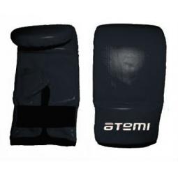 фото Перчатки снарядные ATEMI 03-006 черные. Размер: S