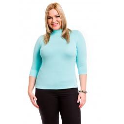 фото Водолазка Mondigo XL 7010. Цвет: мятный. Размер одежды: 52