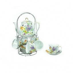 фото Чайный набор на подставке Grazie «Летнее Утро» с чайником