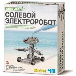 Купить Набор для изобретателей 4M «Солевой электроробот»
