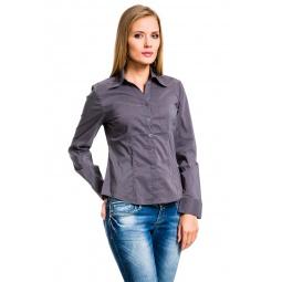 фото Рубашка Mondigo 600358. Цвет: темно-серый. Размер одежды: 42