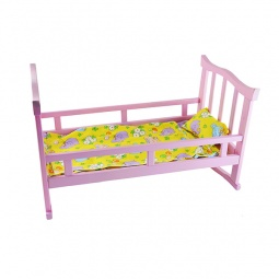 фото Кроватка для кукол Десятое королевство 01293. В ассортименте