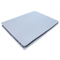 фото Простыня на резинке трикотажная ЭГО. Цвет: голубой. Размер простыни: 90х200 см