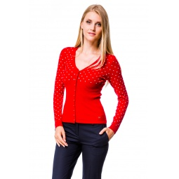 фото Жакет Mondigo 9410. Цвет: красный. Размер одежды: 46