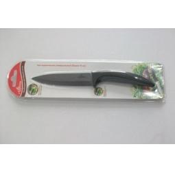 фото Нож керамический Appetite универсальный. Цвет лезвия: черный