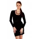 Фото Платье Mondigo 9766. Цвет: черный. Размер одежды: 46