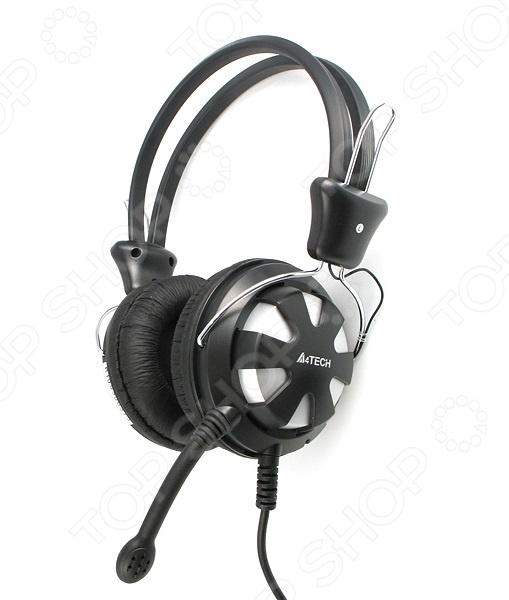 Гарнитура A4Tech HS-28 a4tech hs 60 в интернет магазине