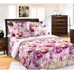 фото Комплект постельного белья Белиссимо «Ирис». 2-спальный. Размер простыни: 220х195 см
