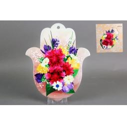Купить Подставка под горячее Коралл «Цветочный принт»