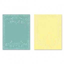 фото Набор форм для эмбоссирования Sizzix Textured Impressions Рамки с орнаментом
