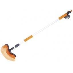 Щетка для мойки телескопическая с губкой и сгоном для воды Автостоп AB-1728 - фото 9