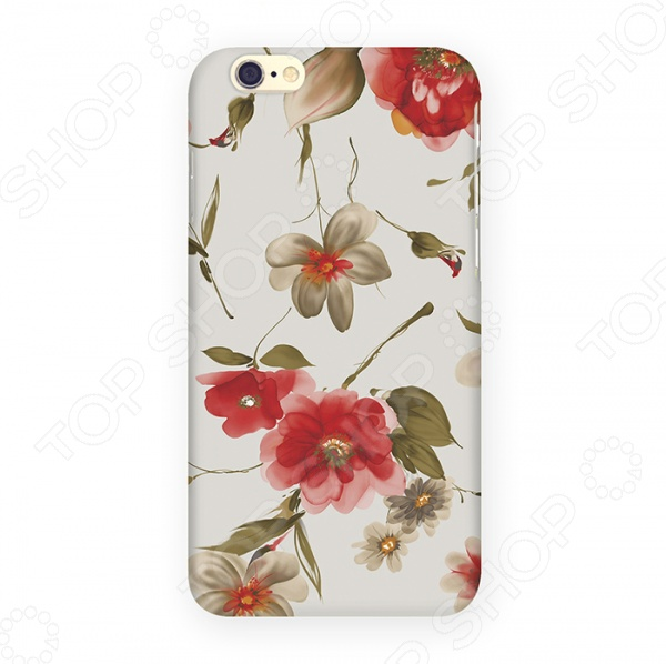 Чехол для iPhone 6 Mitya Veselkov «Акварель» аксессуар чехол elari для elari cardphone и iphone 6 plus blue