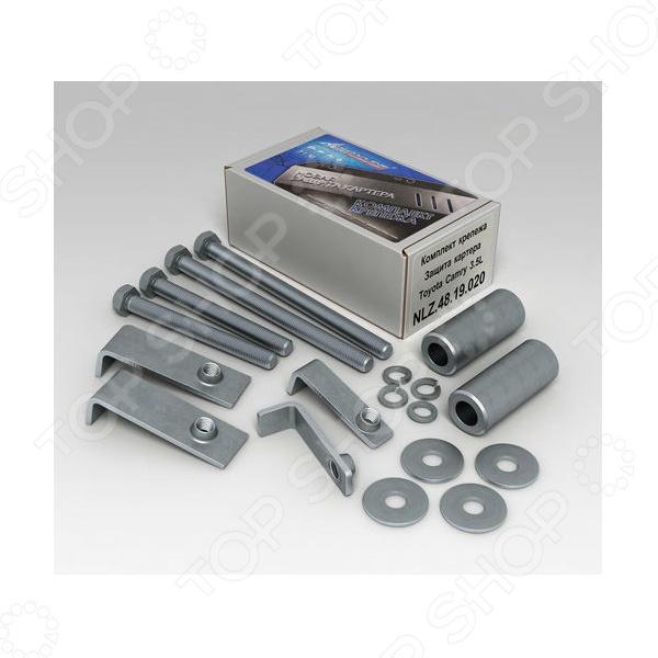 Комплект: защита картера и крепеж Novline-Autofamily Toyota Camry 2006-2011: 3,5 бензин АКПП - фото 4