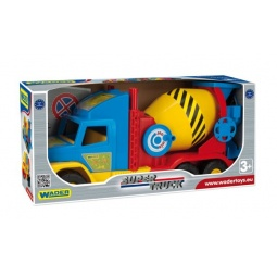 фото Машинка игрушечная Wader «Бетономешалка» Super Truck