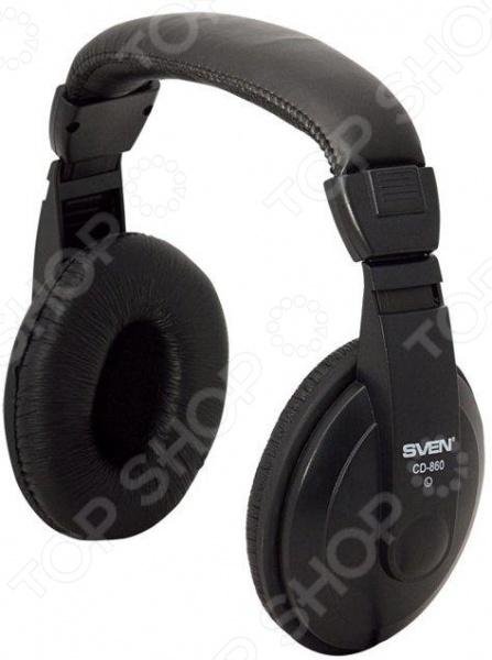 наушники sven ap b570mv черный Наушники накладные Sven AP-860V