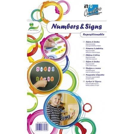 Купить Самоклеящиеся цифры Info Notes 8716-08