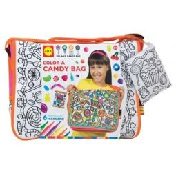 Купить Сумка-раскраска Alex «Раскрась сумку с узором из конфет»