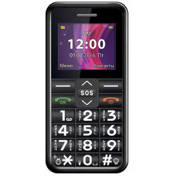 Мобильный телефон Texet «Бабушкофон» ТМ-101