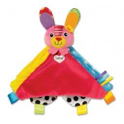 Купить Погремушка-платочек Tomy «Зайка Белла»