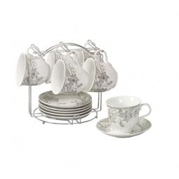 фото Чайный набор на подставке Grazie «Нежность»