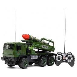 фото Машина на радиоуправлении S+S TOYS «Военный автомобиль с ракетной установкой» 658615