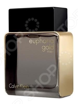 Туалетная вода для мужчин Calvin Klein Euphoria For Men Gold, 100 мл туалетная вода calvin klein euphoria объем 100 мл вес 150 00