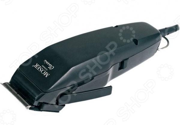 Машинка для стрижки волос Moser 1400-0457Триммеры<br>Машинка для стрижки волос Moser 1400-0457 отлично подойдет для выполнения простых стрижек и корректировки причесок в домашних условиях. Модель работает от сети, снабжена лезвиями StarBlade, выполненными из высококачественной нержавеющей стали, эргономичной рукояткой и мощным вибрационным мотором с пониженным уровнем шума. В комплект входит регулируемая насадка 4-18 мм , чистящая щеточка и масло для смазывания лезвий.<br>