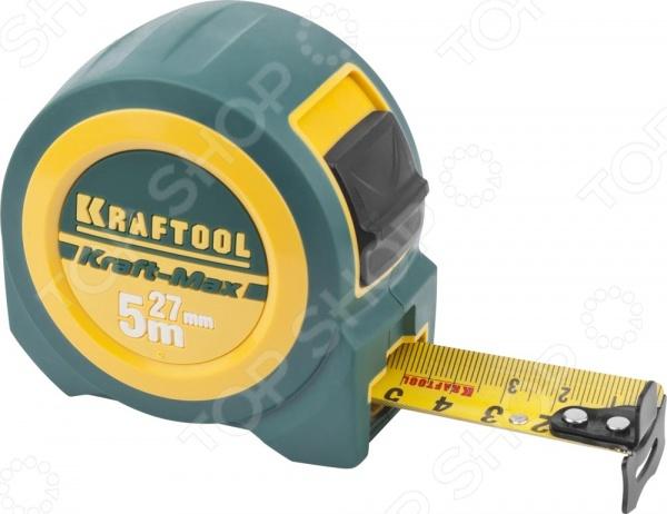 Рулетка Kraftool Pro 34127-05-27 рулетка kraftool pro 34127 05 27