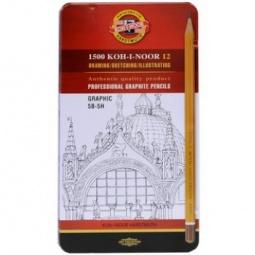 Купить Набор карандашей простых Koh-I-Noor Graphic