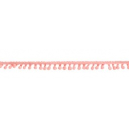 фото Тесьма с помпончиками Tilda. Цвет: розовый