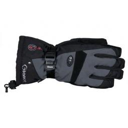 Купить Перчатки горнолыжные GLANCE Freeze (2013-14). Цвет: черный, серый