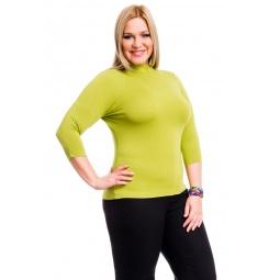 фото Водолазка Mondigo XL 7010. Цвет: зеленый. Размер одежды: 48