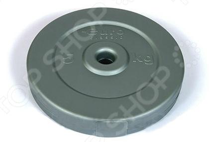 Диск виниловый ActionГрифы. Диски<br>Диск виниловый Action является составной частью наборной гантели или штанги. Представленная модель выполнена из прочного полиэтилена, и наполнена смесью из металла и цемента. Силовые упражнения помогут развить целый ряд мышц, среди которых мышцы рук, плеч, спины и грудной клетки. Меняя вес дисков, вы сможете добиться увеличения нагрузок и наилучших результатов.<br>