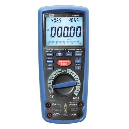 Купить Измеритель сопротивления изоляции СЕМ DT-9985