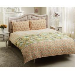 фото Комплект постельного белья TAC Donna. 2-спальный. Цвет: желтый