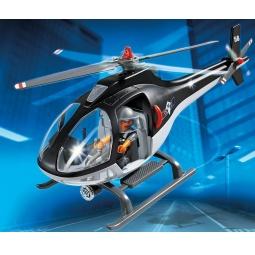 фото Конструктор игровой Playmobil «Полиция: Вертолет специального назначения»